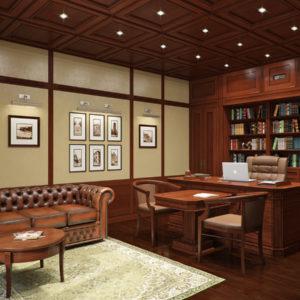 Дизайн кабинета женщины руководителя