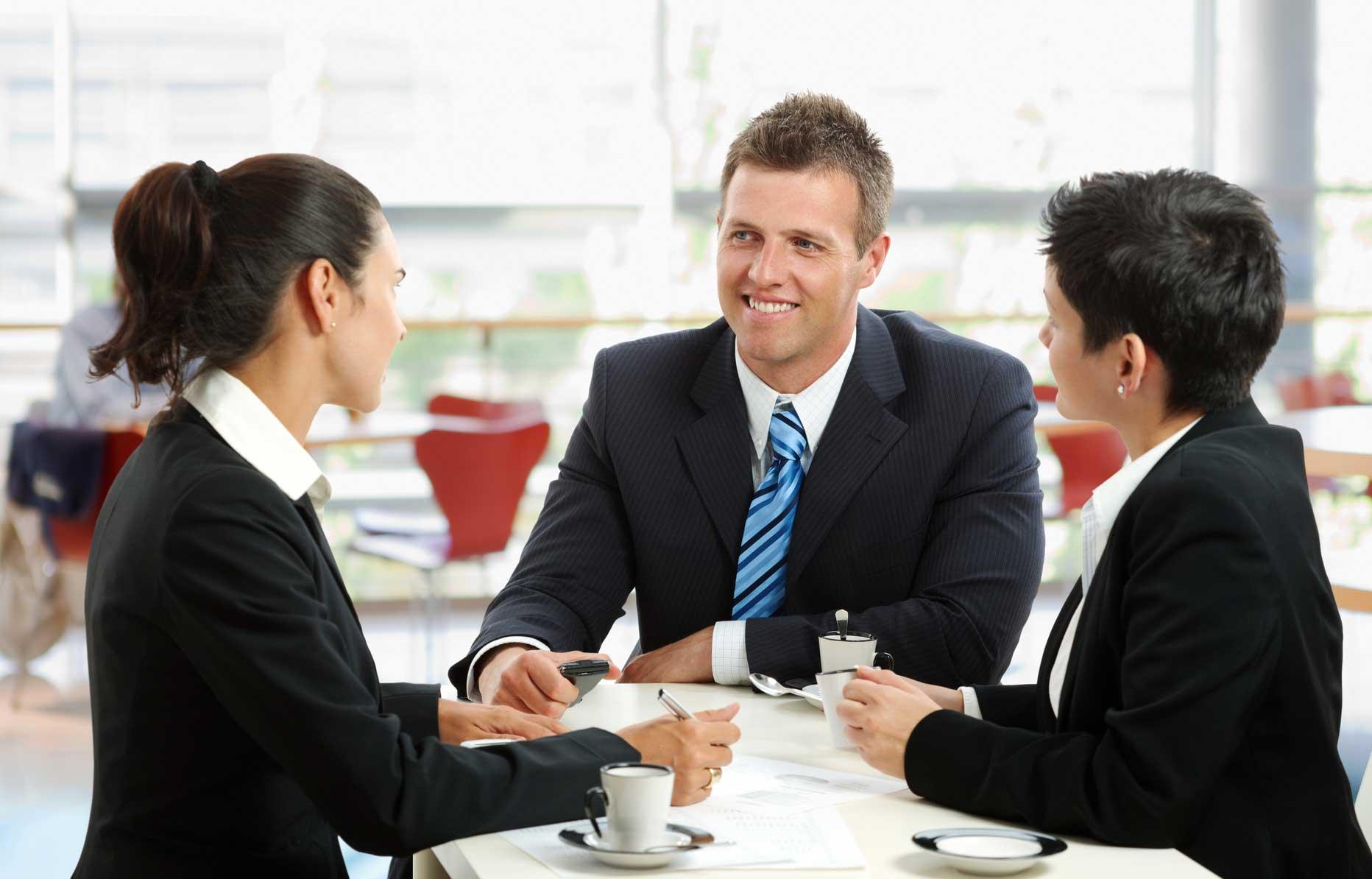 Знакомство деловое диалог