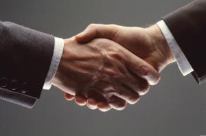 Этикет рукопожатия