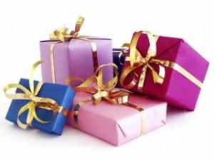 Этикет подарков