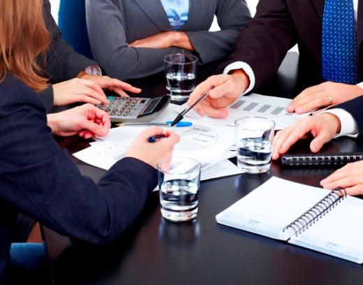 совещание на деловой встрече