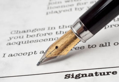"""Этика делового письма - важность наличия """"живой"""" подписи"""