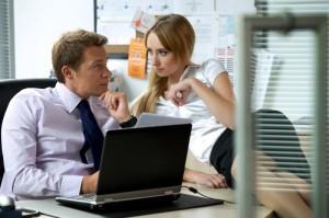 Недопустимое поведение в офисе - флирт