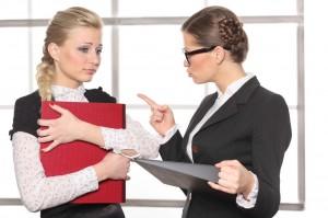 Напряженные отношения начальника и сотрудника
