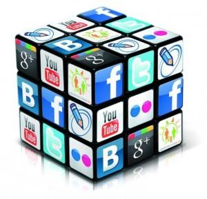 Кубик рубика - социальные сети
