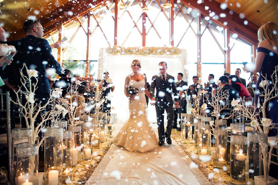 Свадьба зимой — основные преимущества