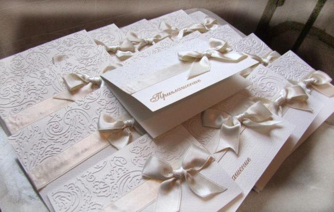 Приглашение на свадьбу — основные правила