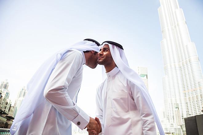 Арабский этикет приветствие
